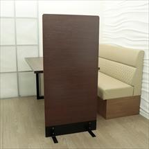アクリル板 コロナ対策 床置きパーテーション スチール脚 総化粧板仕上げタイプ
