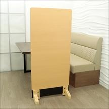 アクリル板 コロナ対策 床置きパーテーション総化粧板張りタイプ