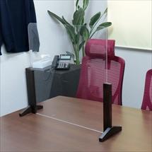飛沫防止アクリル板 木製エンドスタンドH300 商品写真