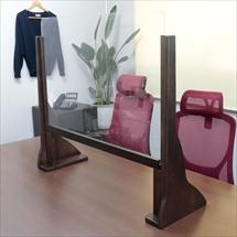 飛沫防止アクリル板 木製ジャンボスタンド 商品写真