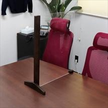 飛沫防止アクリル板 カウンター用木製スタンドH600 商品写真
