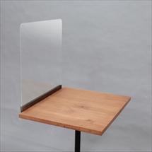 飛沫防止アクリル板 天板横づけタイプ 商品写真